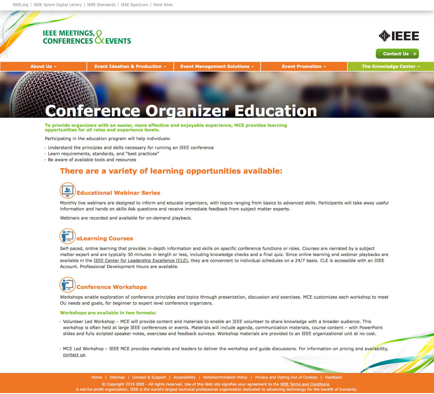 IEEE-mce-education